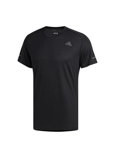 adidas Adidas Erkek Koşu - Yürüyüş T-Shirt Run It Tee M Fl6972 Siyah